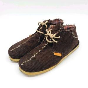 Ben Sherman Corduroy Ankle Boots